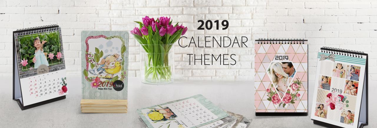 Theme Calendar Collection 2019